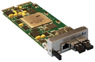 Dual-Channel 10GbE AMC features PCI-Express® fabric.