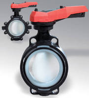 Large Diameter Butterfly Valves convey aggressive media.