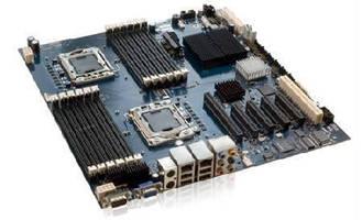 Server Board features quad core processor technology.