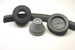 Rubber and PVC Grommets provide wire management.