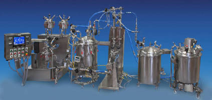 Sanitary Mixing Systems suit batch or continuous operation.