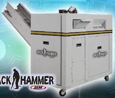 Hard Drive Shredder is designed for fast, safe operation.