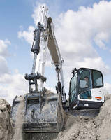 Excavator is designed to promote worker productivity.