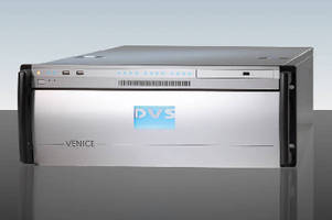 Video Server targets broadcast environments.