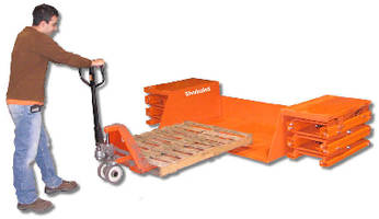 Lift/Tilt Platform promotes material positioning precision.