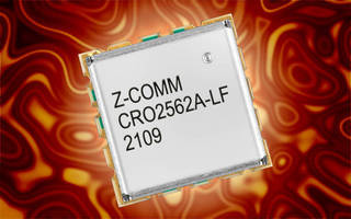 VCO operates at 2,500-2,625 MHz with low phase noise.