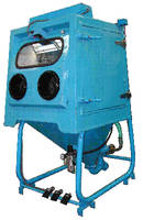 Wet Blast System operates without dust or strong chemicals.