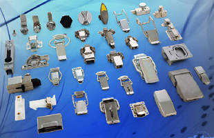 Pull-Down Latches are optimized for corrosion resistance.