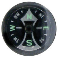 Luminescent Compasses are available in 25 mm size.