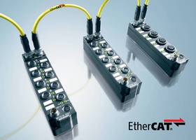 Ethernet Modules are IP67-rated for harsh environments.