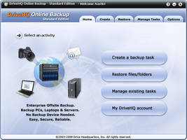 Online File Backup Software automatically protects important business data.