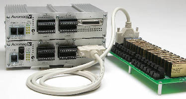 Ethernet I/O Devices interface with range of sensor signals.