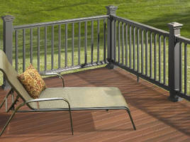 Co-Extruded Railing adds to contractor decking designs.
