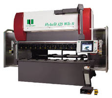 Hybrid Press Brake conserves energy and hydraulic fluid.