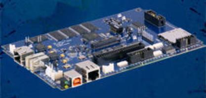 RISC SBC offers I/O flexibility and Windows CE 6.0.