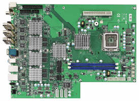 H.264 Video Encoding Mainboard has 16-channel architecture.