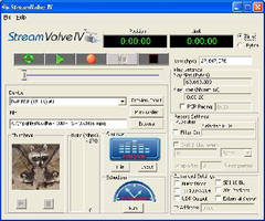 Video Stream Playback Software features advanced playback scheduler.