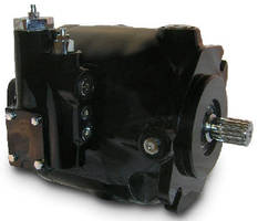 Variable Displacement Piston Pump is compact and quiet.
