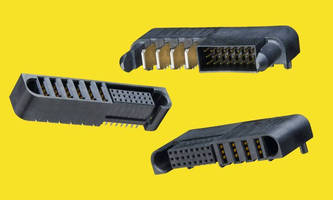 High Power Connectors reach current rating of 60.0 A/blade.