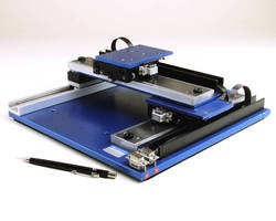 Stepper Motor Gantry Stage offers 0.0004 in. repeatability.