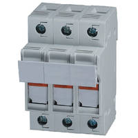 Fuse Holders feature DIN rail mounted design.