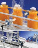 Stainless Steel Ultrasonic Sensors have sanitary design.