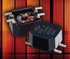 Surface Mount Chokes protect data lines from EMI/RFI.