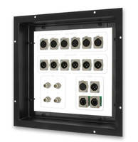 Panel Mounts are recessed to protect electrical connectors.