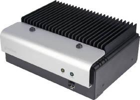 Industrial Box PC features fanless, heat-dissipative design.