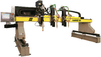 Cutting Machine offers working lengths up to 100 ft.