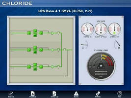 UPS System is offered with touchscreen metering display