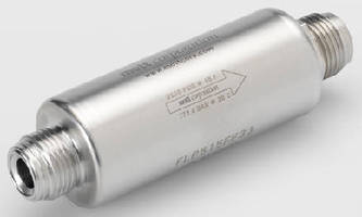 Metal Filters suit high-flow, low-pressure drop applications.