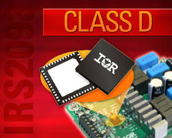 Driver IC targets Class D audio applications from 50-150 W.