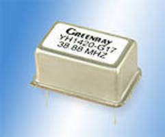 Ovenized Crystal Oscillator serves as stable reference source.