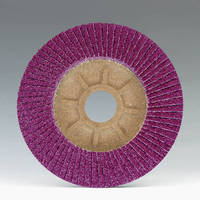 Flap Discs maximize cooling when grinding SS.
