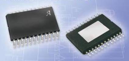 Full-Bridge MOSFET Pre-Driver IC offers fault diagnostics.