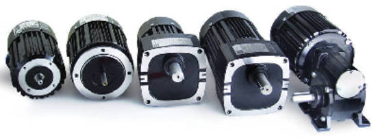 Inverter-Duty Gearmotors/Motors have variable-speed control.