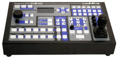 Camera Control Console integrates HD/SD-SDI switching.
