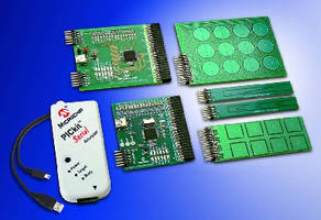 Evaluation Kit helps develop capacitive touch interfaces.