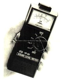 Decibel Meter features two scales.