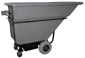Powered Dump Hopper is motorized to prevent injury.