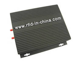 UHF Gen 2 RFID Reader features double antenna channels.