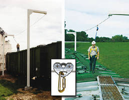 Fall Protection System enables horizontal mobility.
