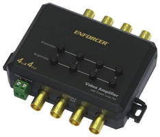 Video Amplifiers are offered in 1- and 4-channel models.