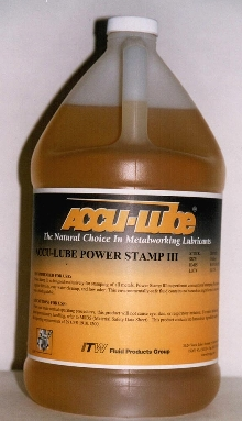 Metalworking Lubricant is environmentally safe.