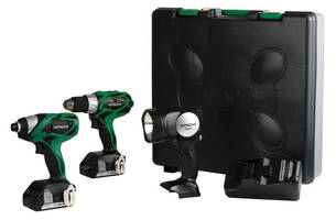 Hitachi Introduces the Next Compact Pro Series Tools Including an Impact Driver and a Combo Kit