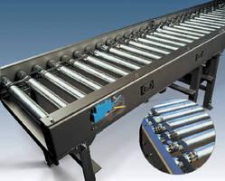 Non-Contact Accumulation Conveyor has clean, quiet design.