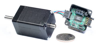 New Microstep Motor Integrates Encoder, Driver, and Controller in Single Convenient NEMA 11 Package