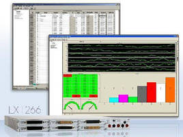 Data Acquisition Software supports LXI switch/measure/control subsystems.