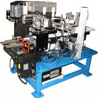 CDS Manufacturing Completes Knife Handle Feeder System Equipped With Vision Inspection Equipment.